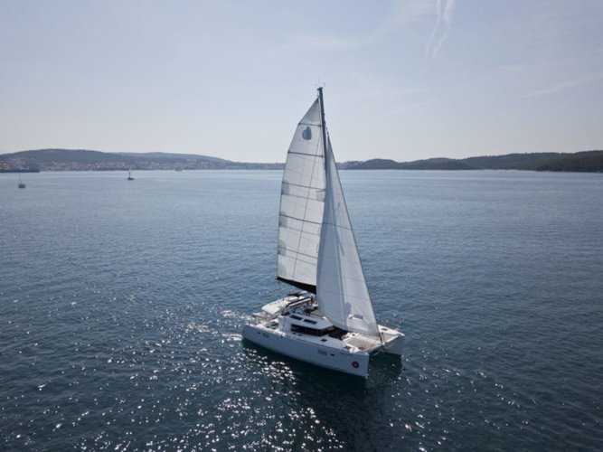Experience Seget Donji, HR on board this amazing Lagoon Lagoon 450
