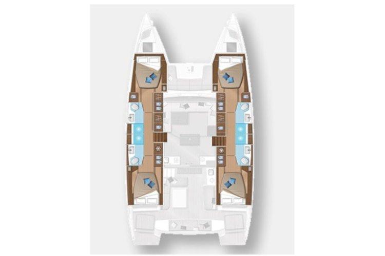 Rent this catamaran and create memories in US Virgin Islands