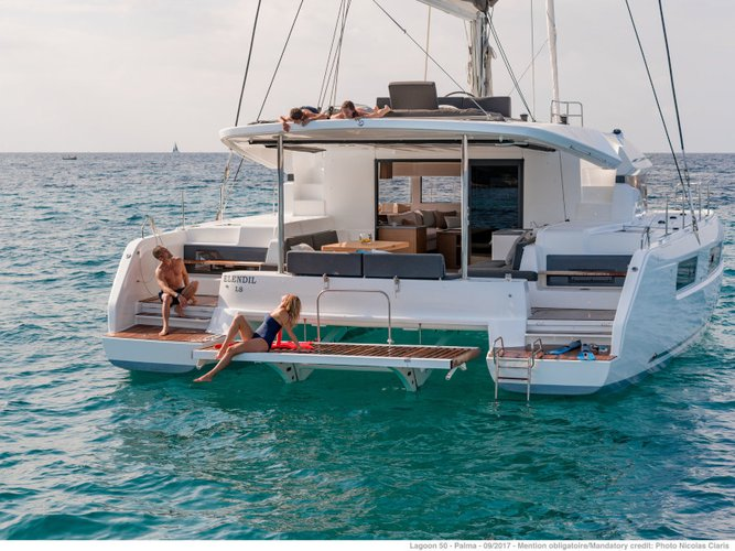 Rent this Lagoon Lagoon 50 for a true nautical adventure