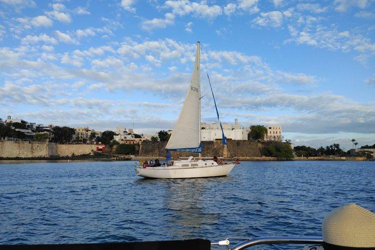 Sloop boat rental in San Juan, Puerto Rico