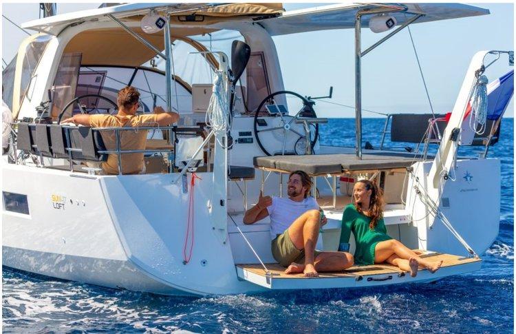 Boat for rent Sun Loft 47.0 feet in Compass Point marina, U.S. Virgin Islands