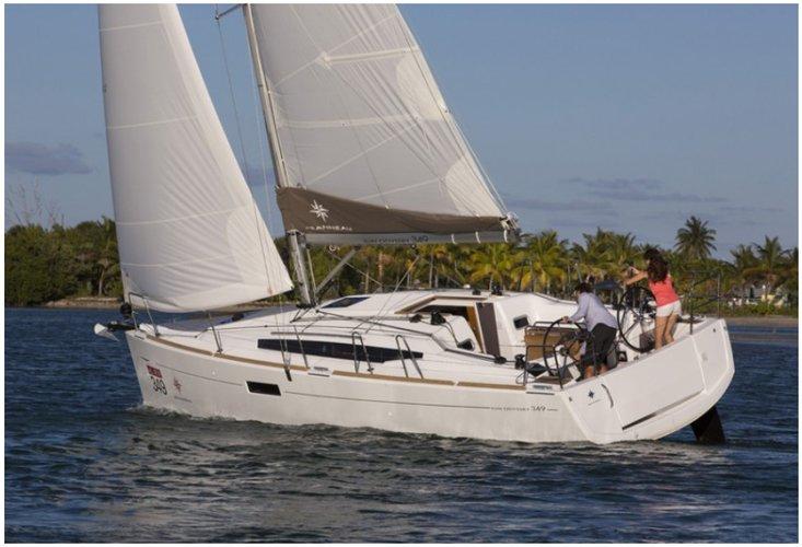 Boat for rent Sun Odyssey 34.0 feet in Compass Point marina, U.S. Virgin Islands