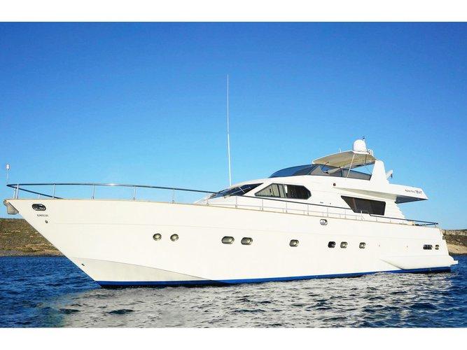 Cruise Portisco, IT waters on a beautiful  Alalunga 70