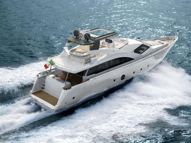 Discover  in style boating on this motor boat rental