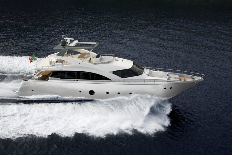 Enjoy luxury and comfort on this Sicily motor boat charter