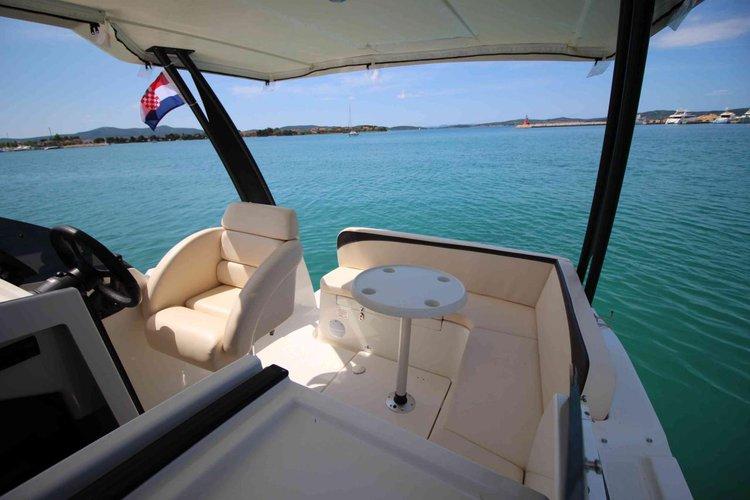 Discover Zadar region surroundings on this Balt 818 Titanium Balt Yacht boat