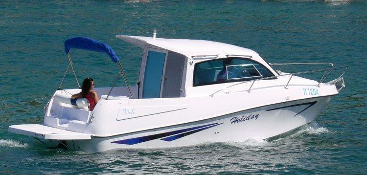 Relax on board our motor boat charter in Šibenik region