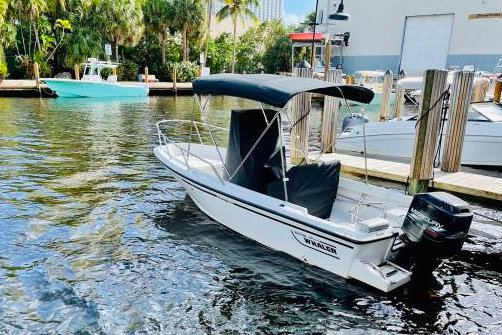 17.5 feet Boston Whaler in great shape