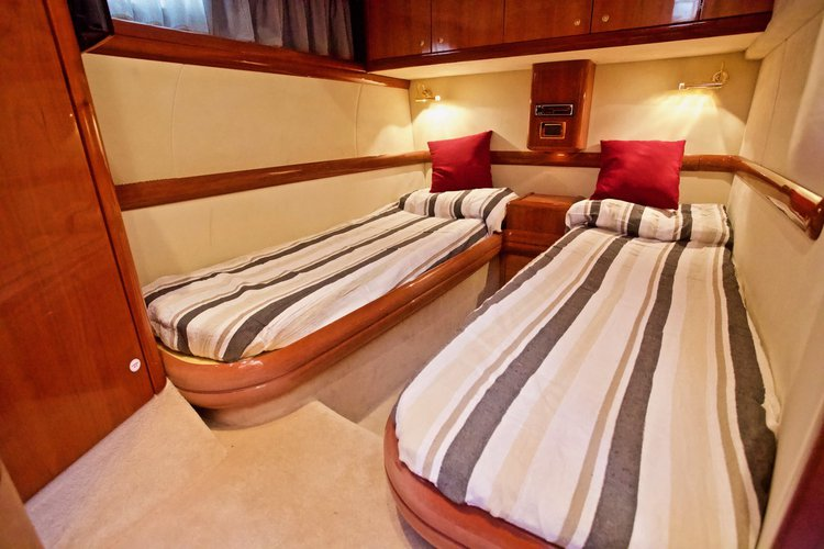 Motor yacht boat for rent in Sicily