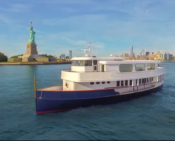 Cruise  the most iconic sights aboard this classic 120 ft yacht