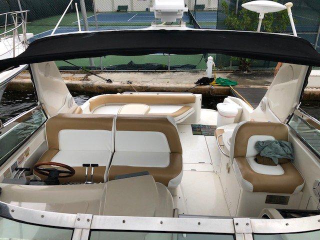Express cruiser boat rental in Miami Beach, FL