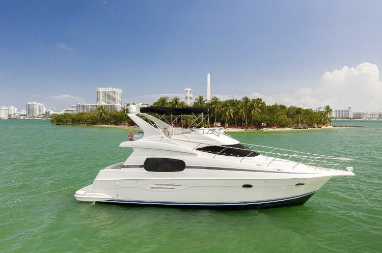 Silverton's 46.0 feet in Miami Beach