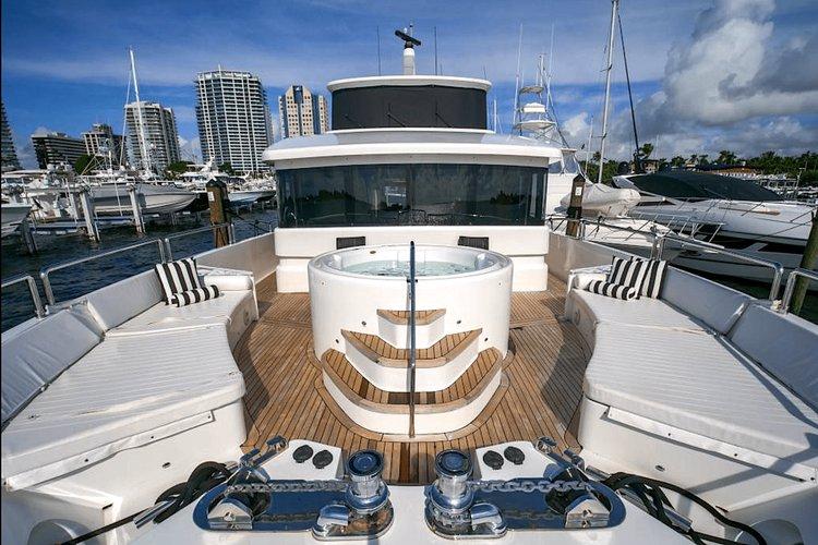 Boat for rent Tarrab 105.0 feet in Bayshore Landing, FL
