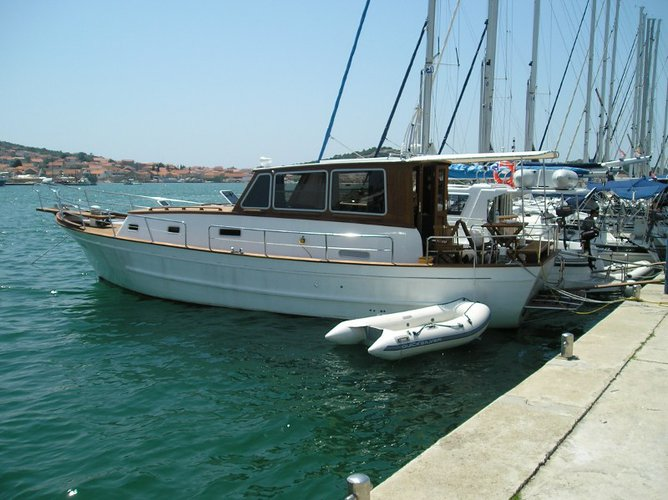 Have fun in the sun on this motor boat charter