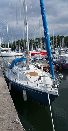 Sail Stockholm County, SE waters on a beautiful Albin Marin Albin Ballad 31