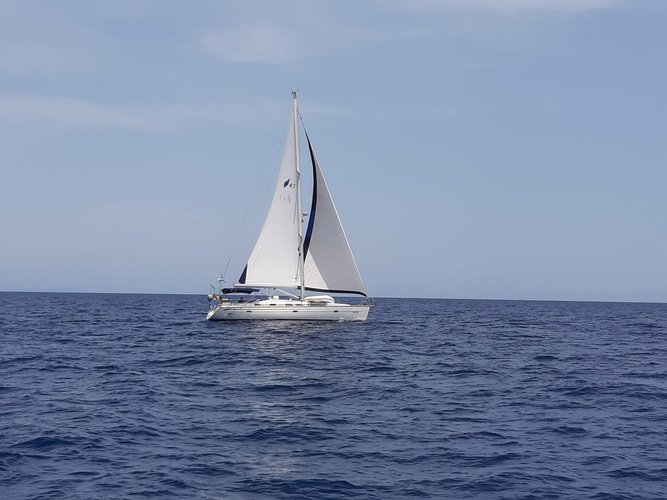 Fully Crewed Bavaria 47 in Greece and Croatia