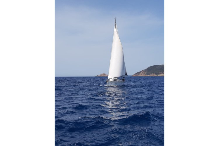 Boating is fun with a Bavaria in Paros