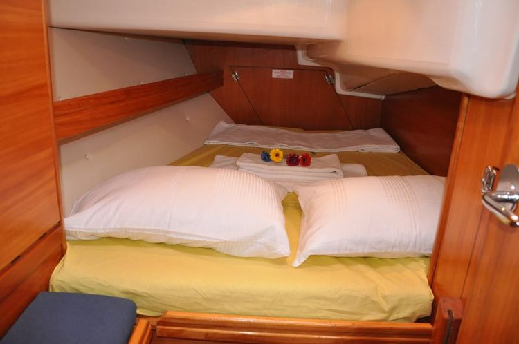 Discover Aegean surroundings on this Bavaria 37 Cruiser Bavaria Yachtbau boat