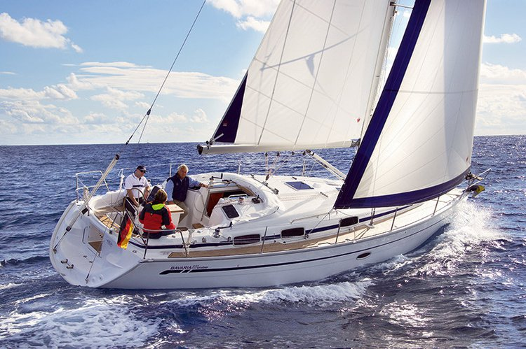 Enjoy luxury and comfort on this Bavaria Yachtbau Bavaria 37 Cruiser in Campania