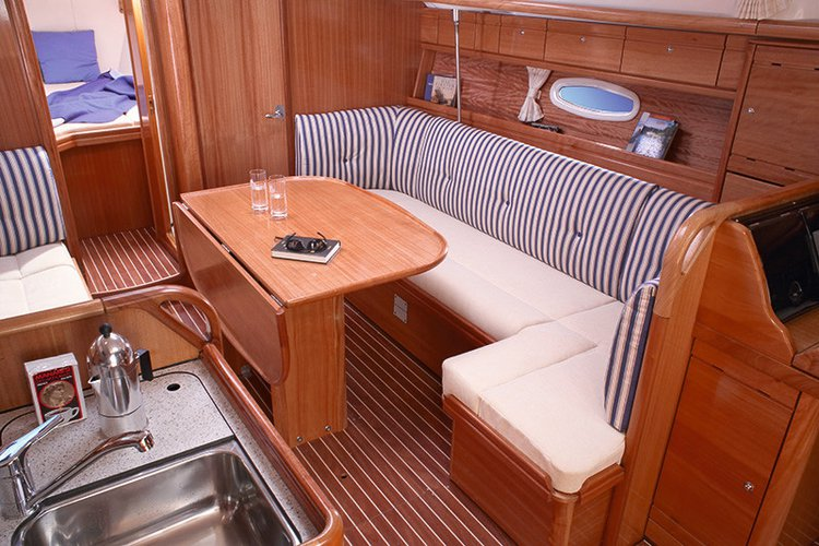 Discover Campania surroundings on this Bavaria 37 Cruiser Bavaria Yachtbau boat