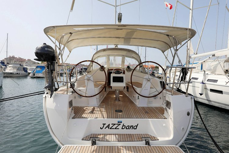 Hop aboard this amazing sailboat rental in Zadar region!
