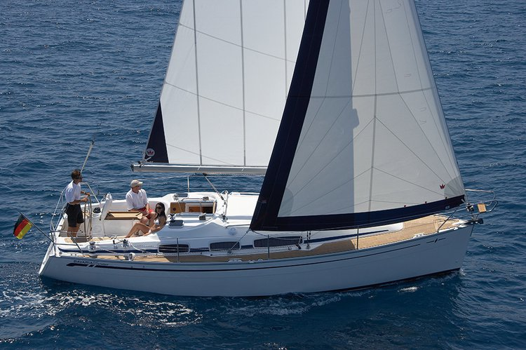 Get on the water and enjoy Campania in style on our Bavaria Yachtbau Bavaria 39 Cruiser
