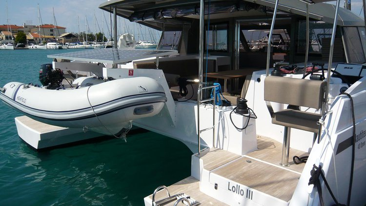 Catamaran boat rental in Ionian Islands, Greece