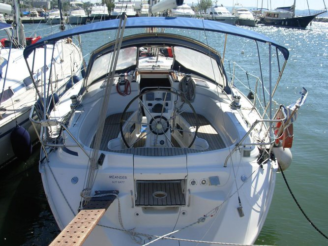 Discover Macedonia surroundings on this Bavaria 38 Bavaria Yachtbau boat