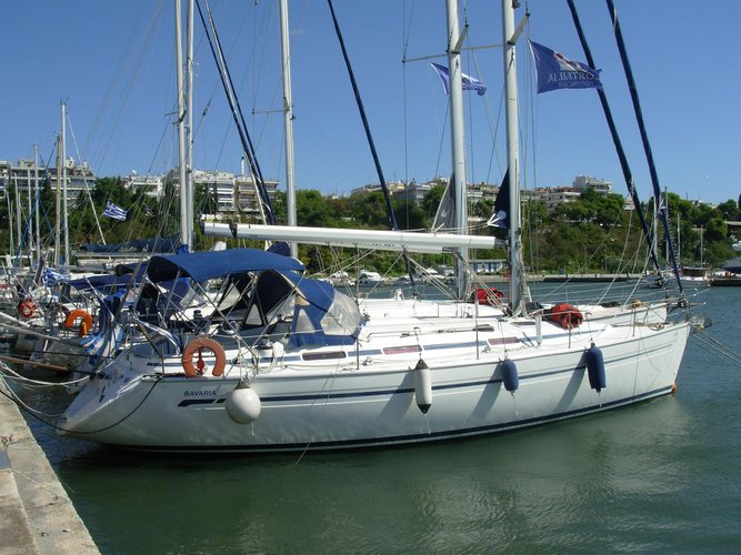Bavaria Yachtbau boat for rent in Macedonia