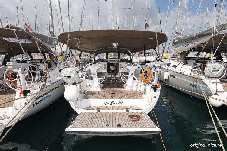 Enjoy Zadar region, HR to the fullest on our comfortable Bavaria Yachtbau Bavaria Cruiser 41S