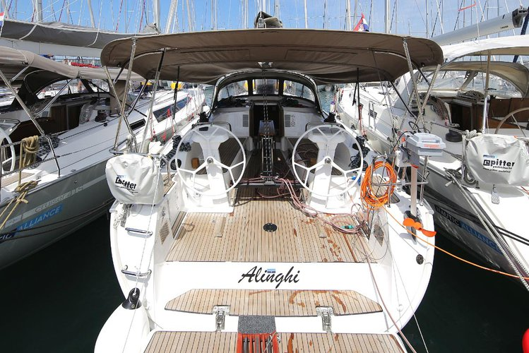 Sail Zadar region, HR waters on a beautiful Bavaria Yachtbau Bavaria Cruiser 41S