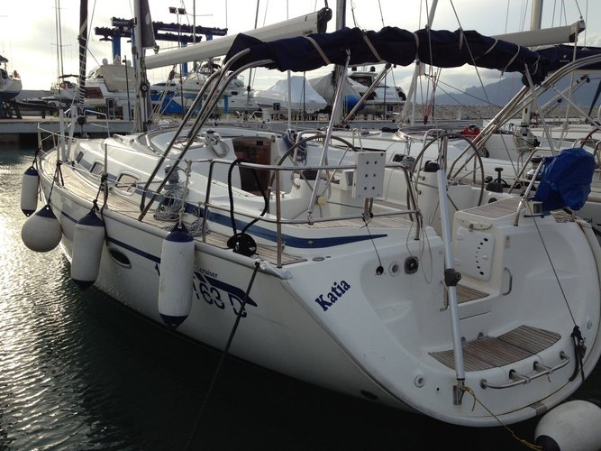 Discover Scarlino surroundings on this Bavaria 42 Cruiser Bavaria Yachtbau boat