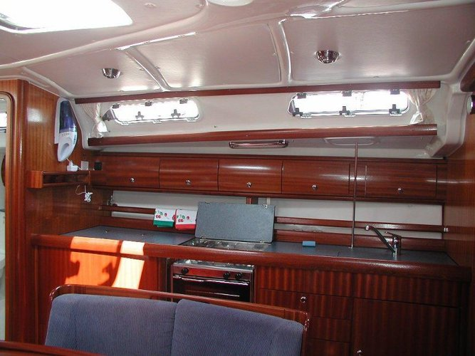 Discover Šibenik region surroundings on this Bavaria 44 Bavaria Yachtbau boat