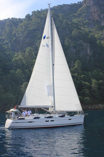 Sail Aegean, TR waters on a beautiful Bavaria Yachtbau Bavaria Cruiser 45