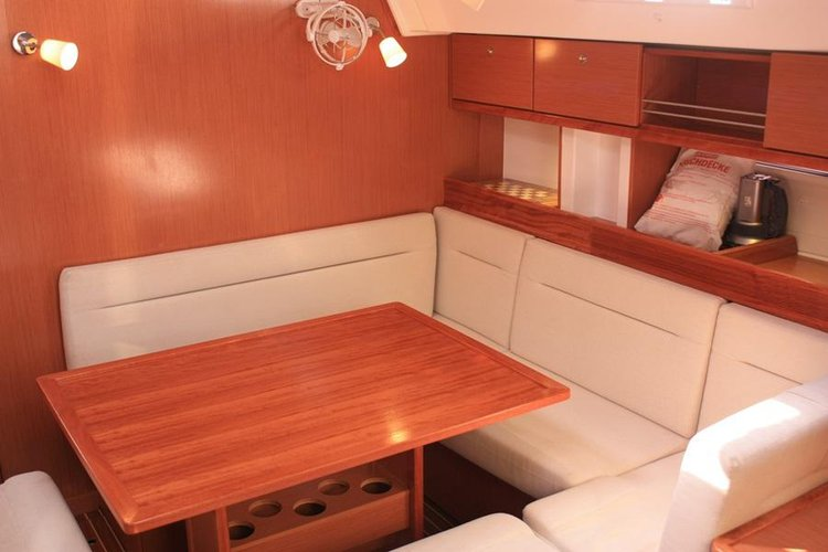 Discover Aegean surroundings on this Bavaria Cruiser 45 Bavaria Yachtbau boat