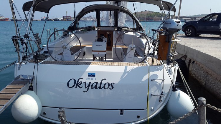 Charter this amazing Bavaria Yachtbau Bavaria Cruiser 46 in Cyclades, GR