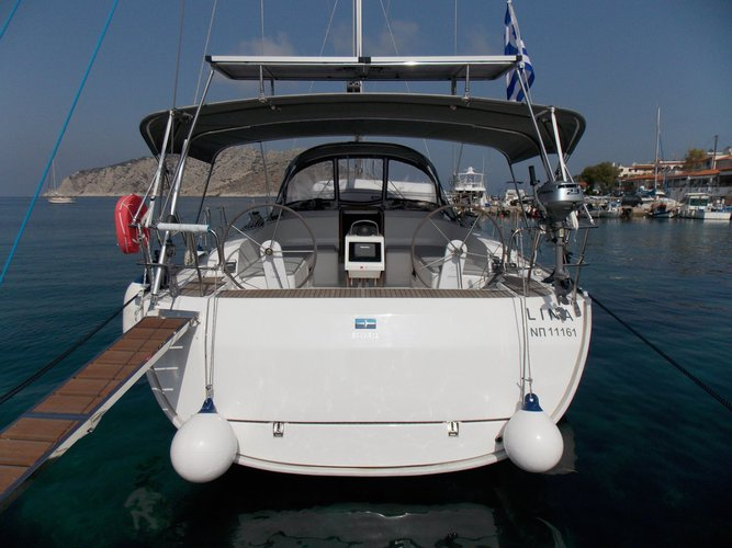 Enjoy luxury and comfort on this Saronic Gulf sailboat charter