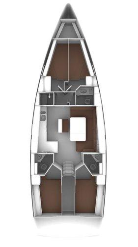 This 46.0' Bavaria Yachtbau cand take up to 8 passengers around Sicily