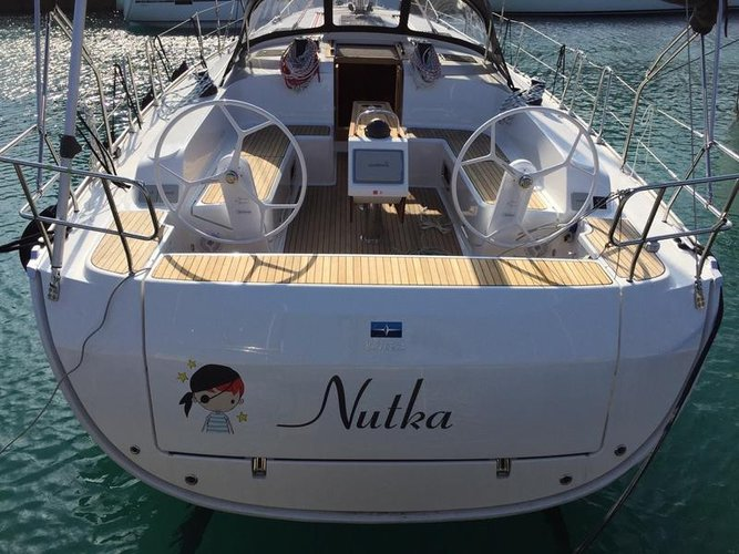 Enjoy luxury and comfort on this Split region sailboat charter