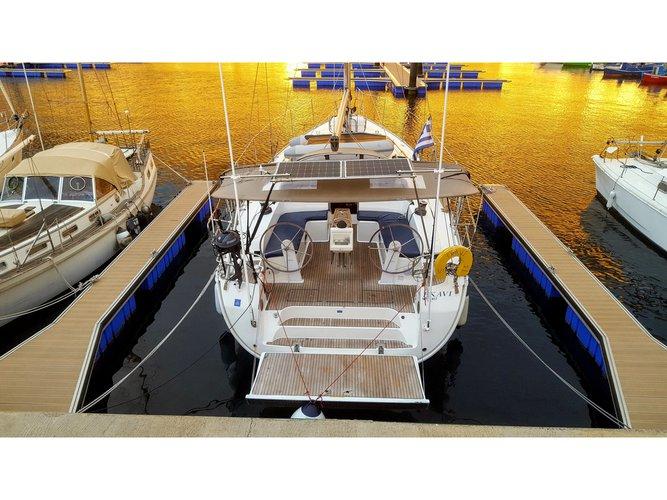 Rent this Bavaria Yachtbau Bavaria Cruiser 51 for a true nautical adventure