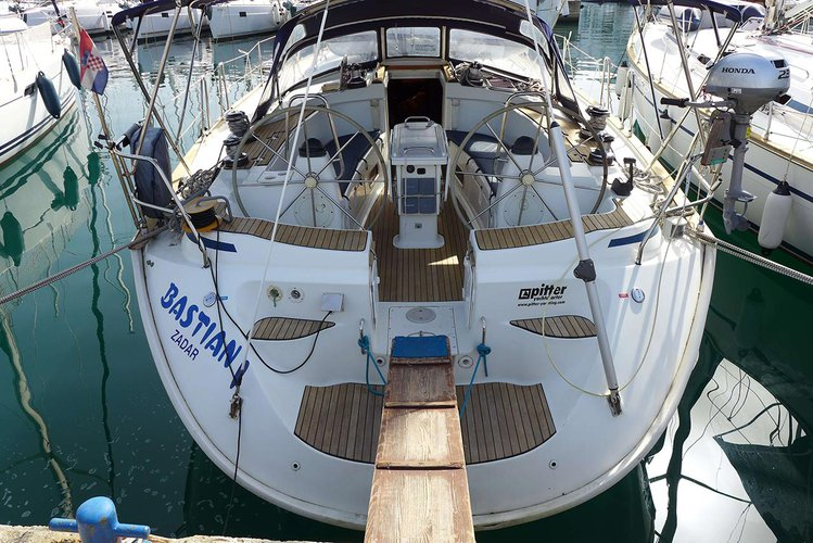 Discover Zadar region in style boating on this sailboat rental