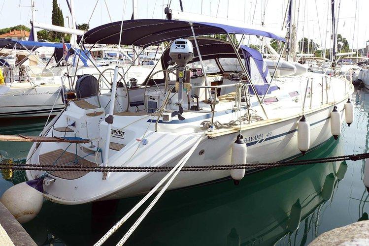 Boat for rent Bavaria Yachtbau 50.0 feet in Marina Tankerkomerc, Zadar, Croatia