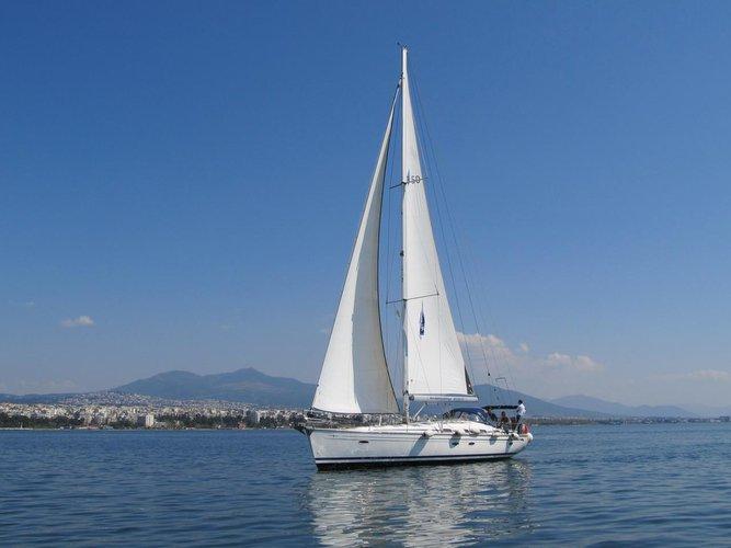 Discover Macedonia surroundings on this Bavaria 50 Cruiser Bavaria Yachtbau boat