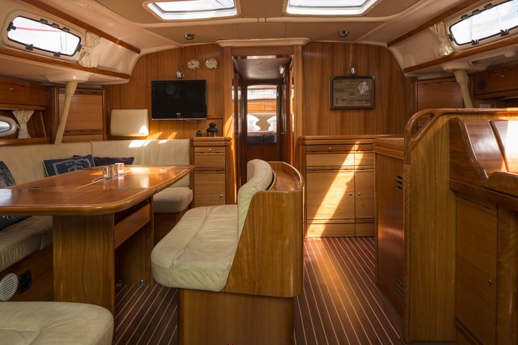 This 51.0' Bavaria Yachtbau cand take up to 11 passengers around Stockholm County