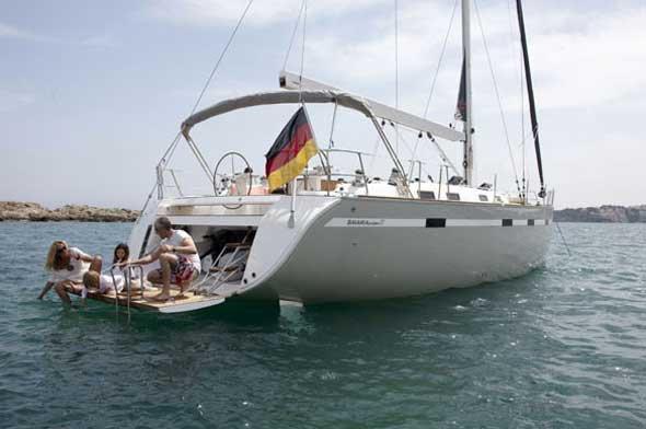 Experience Saronic Gulf, GR on board this amazing Bavaria Yachtbau Bavaria 55 Cruiser