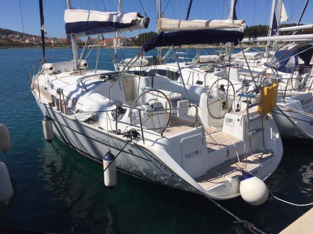 Boat for rent Bénéteau 39.0 feet in Marina Betina, Murter, Croatia