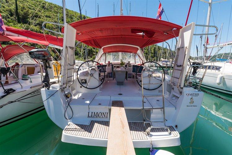 Charter this amazing Bénéteau Oceanis 41 in Dubrovnik region, HR