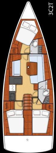 Boat for rent Bénéteau 40.0 feet in Marina Trogir - SCT, Croatia