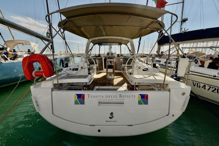Hop aboard this amazing sailboat rental in Tuscany!