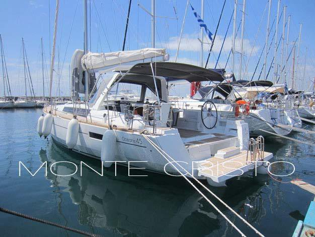 Charter this amazing Bénéteau Oceanis 45 in Saronic Gulf, GR